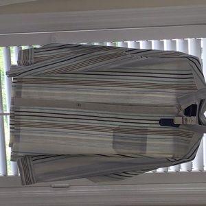Tommy Bahama striped shirt NWT. XXL